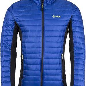 Pánská prošívaná bunda KILPI ISAIAH modrá S