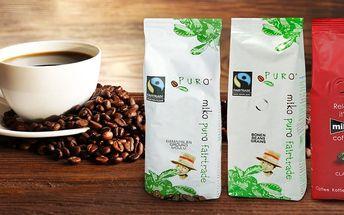 Výborná fairtrade káva v 250g balení