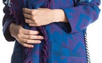 Roxy Dámský kabátek Santa J Jckt Outlands Palace Blue ERJJK03144-BMB6 L