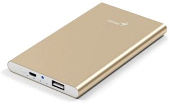 Power Bank Genius ECO-u540 5400 mAH (39800016102) zlatá