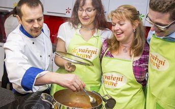 Kurz vaření: Pstruh s dýňovým pyré