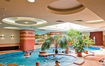 Luxusní wellness pobyt na 5 dní pro dva s polopenzí u termálního jezera Héviz, Maďarsko