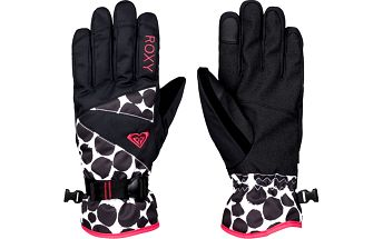 Roxy Dámské rukavice Rx Jetty Gloves J Glov Irregular Dots ERJHN03032-KVJ1 L