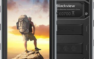 iGET BLACKVIEW BV6000, Dual SIM, LTE, černá - 84000136 + Zdarma CulCharge MicroUSB kabel - přívěsek (v ceně 249,-)