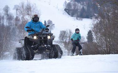 Motoskijöring v Libereckém kraji