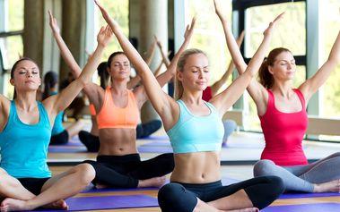 Vstupy na lekce jógy pro ženy
