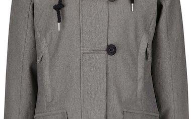 Šedý dámský kabát s knoflíky Horsefeathers Sherby