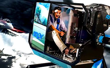 Zažijte lítý boj na leteckém simulátoru