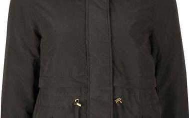 Tmavě zelená dámská bunda s kapucí VERO MODA Sabella