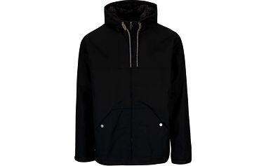 Černá pánská bunda s kapucí Quiksilver Wanna