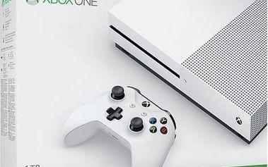 Herní konzole Microsoft 1 TB (234-00012) bílá