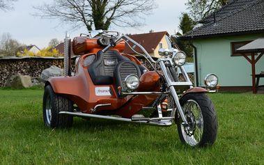 Pronájem motorové tříkolky
