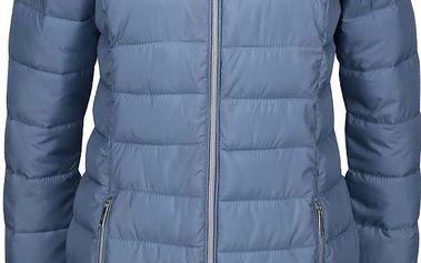 Modrý dámský prošívaný kabát s.Oliver