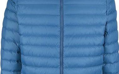 Modrá pánská prošívaná bunda Geox Down