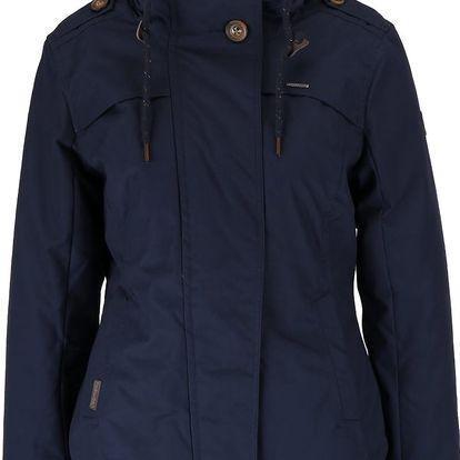 Tmavě modrá dámská bunda s kapucí Ragwear Ewok