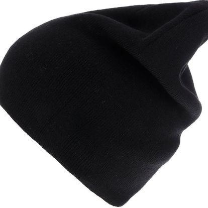 Černá pánská čepice 2 v 1 Quiksilver Heatbag