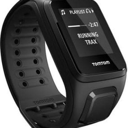 GPS hodinky Tomtom (L) (1RE0.002.01) černé