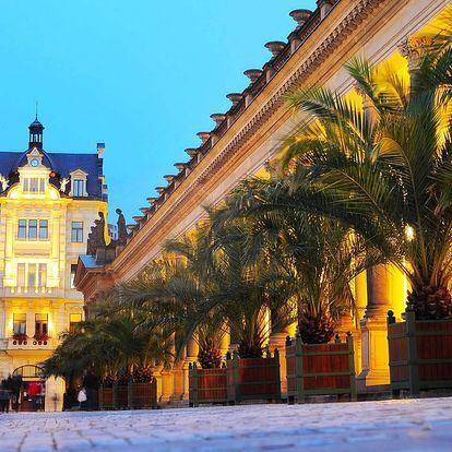 Hotel Gejzír*** v Karlových Varech s polopenzí