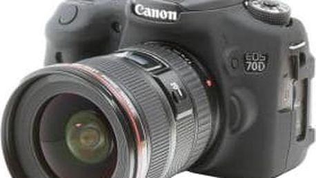 Easy Cover silikonový obal pro Canon 70D, černá - ECC70D