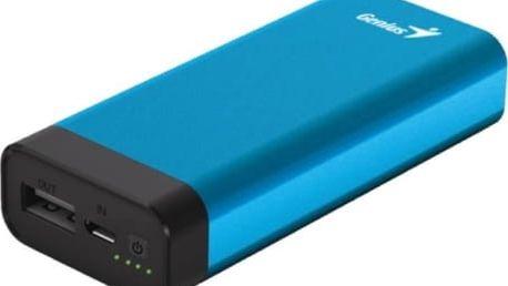 Power Bank Genius ECO-u527 5200 mAh (39800014102) modrá