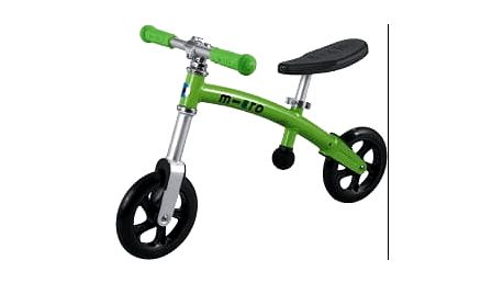 MICRO G-Bike+ Light odrážedlo, zelené