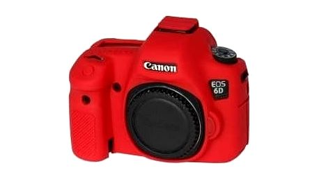 Easy Cover silikonový obal pro Canon 6D, červená - ECC6DR