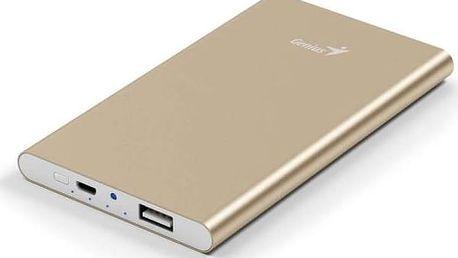 Power Bank Genius ECO-u540 5400 mAH (39800016102) zlatá