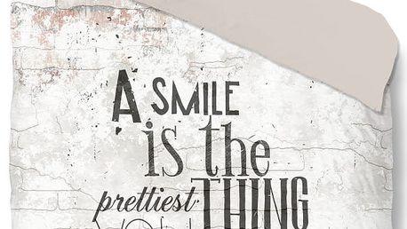 Povlečení Muller Textiel Pure Smile, 140 x 200 cm