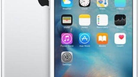 Mobilní telefon Apple Plus 64GB - Silver (MKU72CN/A) stříbrný