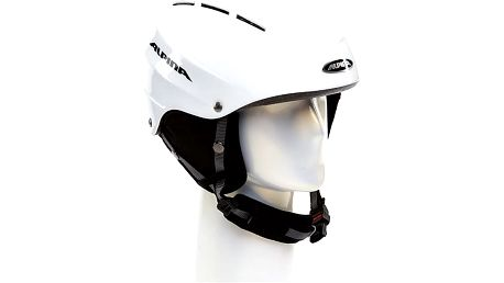 Lyžařská helma Alpina Fire, bílá, 54-57