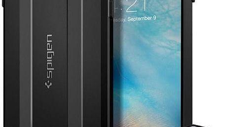 Pouzdro Spigen Capsule Ultra Rugged - iPhone 6s+ černé Černá