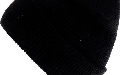 Černá pánská čepice s logem Quiksilver Performer