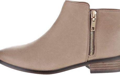 Béžové kožené dámské boty ALDO Julianna