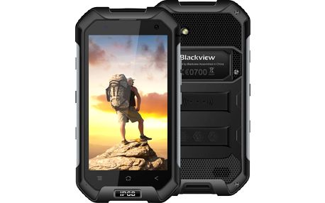 iGET BLACKVIEW BV6000, Dual SIM, LTE, černá - 84000136