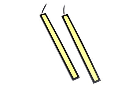 LED osvětlení na přední nárazník - mix barev