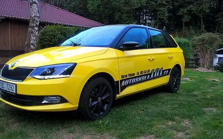 Autoškola - kondiční jízdy v Brně: balíček 5 výukových hodin