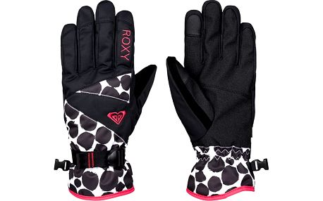 Roxy Dámské rukavice Rx Jetty Gloves J Glov Irregular Dots ERJHN03032-KVJ1 L