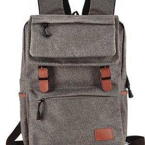 Dámský tmavě šedý batoh Jemeny 5042