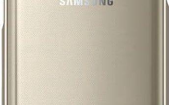 Kryt na mobil Samsung Clear Cover pro Galaxy S7 (EF-QG930CZ) (EF-QG930CFEGWW) zlatý