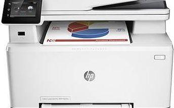 Tiskárna multifunkční HP LaserJet Pro MFP M274n (M6D61A) bílá + Kabel za zvýhodněnou cenu + Doprava zdarma