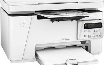 Tiskárna multifunkční HP LaserJet Pro MFP M26nw (T0L50A) bílá barva + Kabel za zvýhodněnou cenu + Doprava zdarma