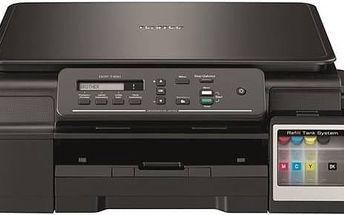 Tiskárna multifunkční Brother DCP-T300 (DCPT300YJ1) černá + Kabel za zvýhodněnou cenu + Doprava zdarma