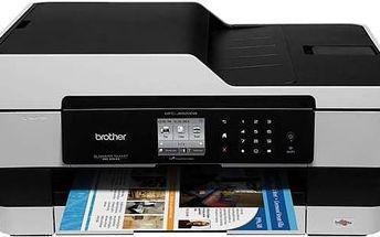 Tiskárna multifunkční Brother MFC-J6520DW (MFCJ6520DWYJ1) + Kabel za zvýhodněnou cenu + Doprava zdarma
