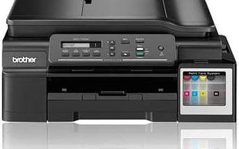 Tiskárna multifunkční Brother DCP-T700W (DCPT700WYJ1) černá + Kabel za zvýhodněnou cenu + Doprava zdarma