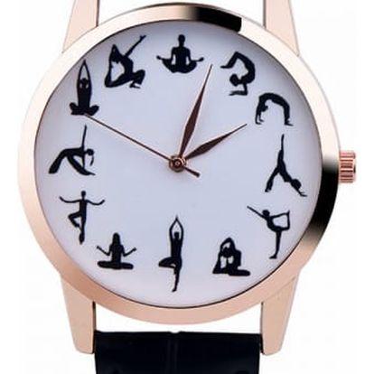 Dámské hodinky pro milovnice jógy