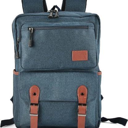 Dámský modrý batoh Edite 5043