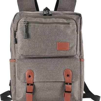 Dámský tmavě šedý batoh Edite 5043
