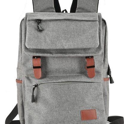 Dámský světle šedý batoh Jemeny 5042