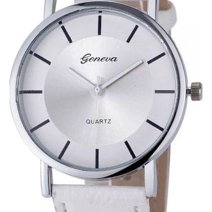 Dámské hodinky s jednoduše řešeným ciferníkem - 6 barev