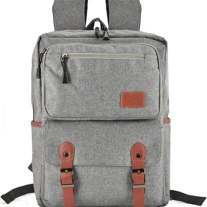 Dámský světle šedý batoh Edite 5043
